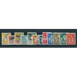 1963 OLANDA NEDERLAND  ANNATA COMPLETA 24 VALORI NUOVI MNH  MF16217