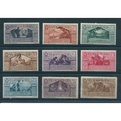 1930 CIRENAICA SERIE VIRGILIO 9 VALORI NUOVI MLH MF16963