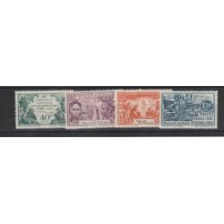 ILES WALLIS ET FUTUNA 1931 EXPO DI PARIGI 4 VAL  MLH YVERT 66-69 MF18824