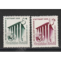 GERMANIA REICH 1939 AGRICOLTURA  2 VAL MNH MF19345