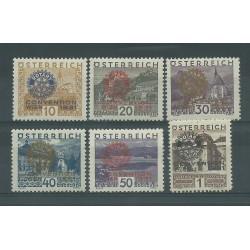 1931 AUSTRIA OSTERREICH CONGRESSO ROTARY A VIENNA 6 VAL MLH MF25039