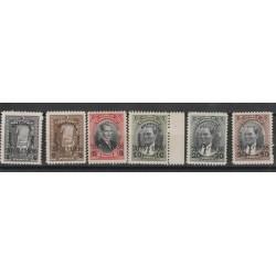 1936  TURCHIA TURKIYE CONVENZIONE PER GLI STRETTI 6  V UNIF 872/77 MLH MF50591