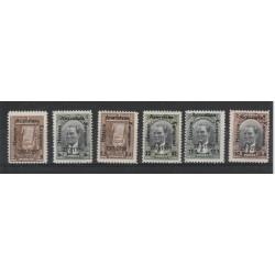 1939  TURCHIA  UNIONE HATAY ALLA TURCHIA 6 VAL UNIF 912/917 MNH MF50841