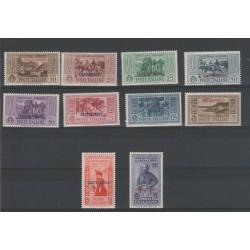 1932 CASTELROSSO SERIE GARIBALDI 10 VALORI NUOVI  MNH MF51695
