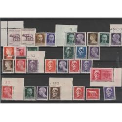 1945 LUOGOTENEZA POSTA ORDINARIA  30  V  MNH MF51906