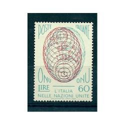 1956 ITALIA REPUBBLICA ONU...