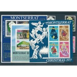 MONTSERRAT 1977 YEAR SET...