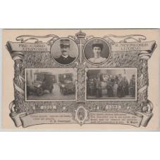 CARTOLINA 1913 PRO CARRO...