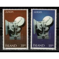 1995 ISLANDA EUROPA CEPT...