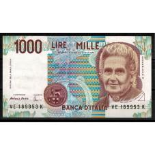 1995 BANCONOTA LIRE 1000...