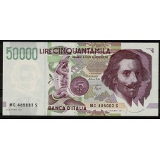 1995 BANCONOTA LIRE 50000...