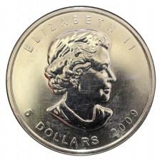 2009 CANADA 5 DOLLARI...