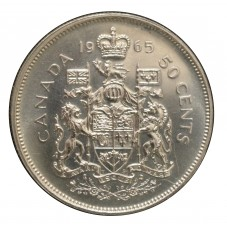1965 CANADA 50 CENTS...