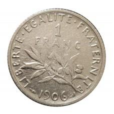 1906 FRANCIA 1 FRANC -...