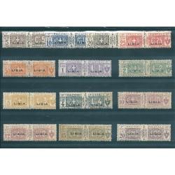 1915 LIBIA PACCHI POSTALI...