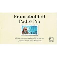 LIBRETTO FRANCOBOLLI DI...