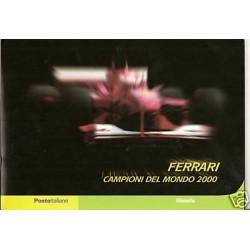 2001 FOLDER FERRARI...
