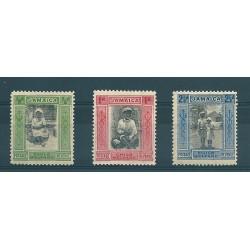 JAMAICA 1923 GEORGE V...