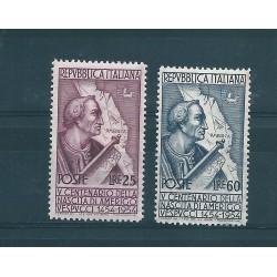 1954 REPUBBLICA ITALIANA  MARCO POLO  2  VAL  MNH MF15969