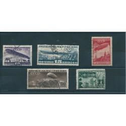 1931 RUSSIA URSS PRO COSTRUZIONI DIRIGIBILI 5 VAL USATI MF16078