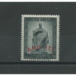 1949 TRIESTE A INAUGURAZIONE MONUMENTO A MAZZINI 1 VALORE NUOVO  MF23219