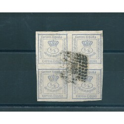 1872  SPAGNA ESPANA CORONA REALE 1 VAL USATI MF16099