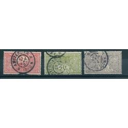 1906 OLANDA NEDERLAND SERIE PRO OPERE ANTITUBERCOLARI 3 VALORI USATI MF16152