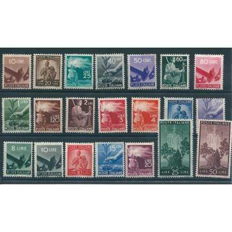 1945 -1948 REPUBBLICA ITALIANA SERIETTA DEMOCRATICA 21 VAL MNH MF16207