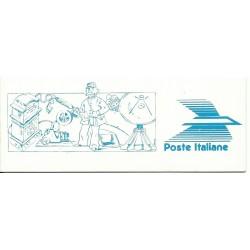 1989 REPUBBLICA ITALIANA LIBRETTO CENTENARIO DELLE POSTE NUOVO MNH MF23454