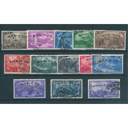 1948 TRIESTE A SERIE RISORGIMENTO 13  VALORI USATI MF16610