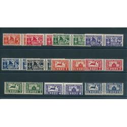 1934 EGEO SERIE PACCHI POSTALI SOGGETTI VARI 11 V NUOVI MNH MF16606