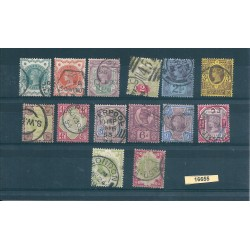 1887 GRAN BRETAGNA GIUBILEO REGINA VITTORIA UNIF N 91-104 VAL 14 USATI MF16655