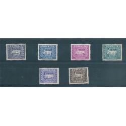 1950 SOMALIA AFIS SEGNATASSE 6 VALORI NUOVI MNH MF16797