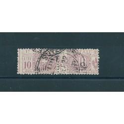 1914 - 22 REGNO PACCHI POSTALI 10 LIRE LILLA 1 VALORE USATO MF16863