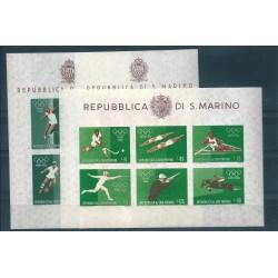 1961 SAN MARINO PA ELICOTTERO LIRE 1000 FOGLIETTO NUOVO INTEGRO MF15985