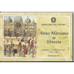 1994 REPUBBLICA ITALIANA LIRE 1000 ANNO MARCIANO FDC CONFEZ ZECCA MF23699