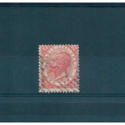 1863 REGNO  VITTORIO EMANUELE II TIRATURA TORINO  2 LIRE USATO 1VAL  MF16892