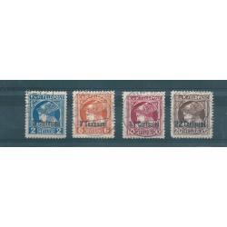 1918 FRIULI - VENETO OCCUPAZIONE AUSTRIACA  GIORNALI  4 VAL USATI MF16981