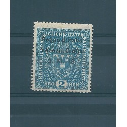 1918  TERRE REDENTE VENEZIA GIULIA  2 K   SASS N 15 MLH  MF16967