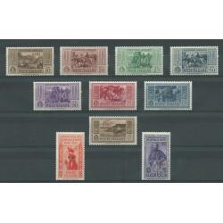 1932 ISOLE EGEO SIMI SERIE GARIBALDI 10 VALORI NUOVI MNH MF23544