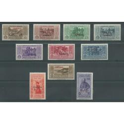 1932 ISOLE EGEO STAMPALIA  SERIE GARIBALDI 10 VALORI NUOVI MNH MF23543