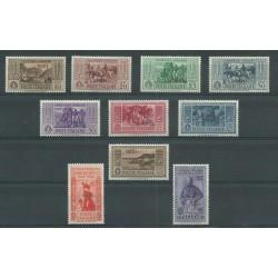 1932 ISOLE EGEO RODI SERIE GARIBALDI 10 VALORI NUOVI MNH MF23542