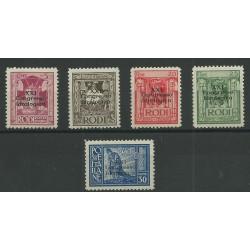 1930 ISOLE EGEO SERIETTA XXI CONGRESSO IDROLOGICO 5 VAL MLH MF23547