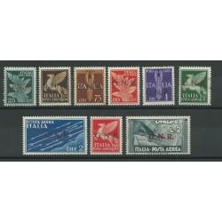1944 REPUBBLICA SOCIALE RSI GNR POSTA AEREA TIR VERONA 9 V MLH SORANI MF23954