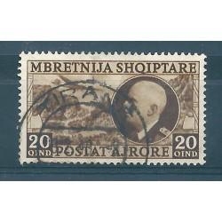 1939 ALBANIA POSTA AEREA SASSONE N 4  UN VAL USATI MF17094