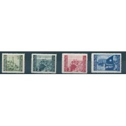 1946 LITORALE SLOVENO OCCUPAZIONE JUGOSLAVA 4 VAL MLH SASS N 63-66 MF17141