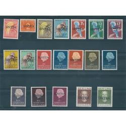 1962 1962 UNTEA NIEUW GUINEA NEDERLAND AMMINISTRAZIONE ONU 19 VAL MNH MF117156
