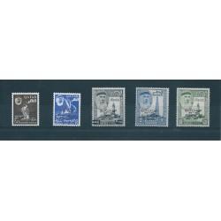 QATAR 1964  KENNEDY  YVERT N 37 - 41 - 4 VAL MNH MF17179