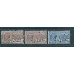 1913 - 23 REGNO POSTA PNEUMATICA SERIE 3 VAL MLH MF17306