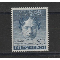 1952 BERLINO  BEETHOVEN 1VAL NUOVO MLH MF17690
